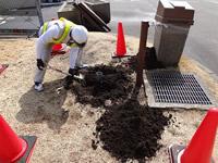 地面掘削工事